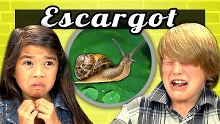 KIDS vs. FOOD #7 - ESCARGOT