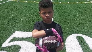 Youth football fundamental drills