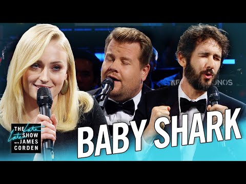 The Biggest 'Baby Shark' Ever w/ Sophie Turner & Josh Groban Mp3