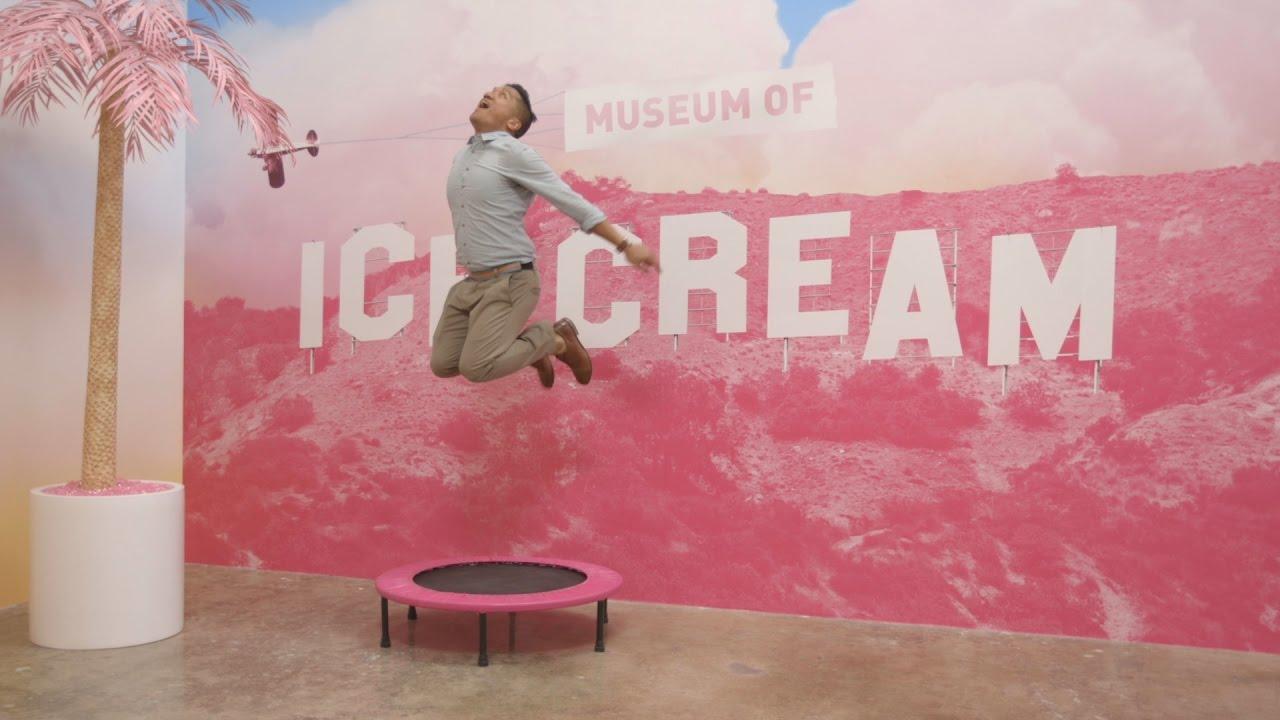 Museum Of Ice Cream Los Angeles Youtube
