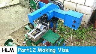 Homemade milling machine part 12