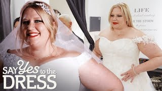 Plus Size Performer Rocks Out With Her Frock Out! | Curvy Brides Boutique