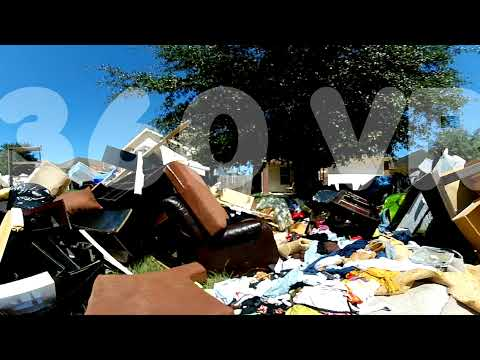 360 Degree VR – Damaged & discarded personal possessions due to Hurricane Harvey