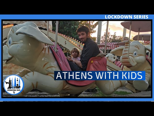 Greece with kids - Athens Airbnb and Theme park