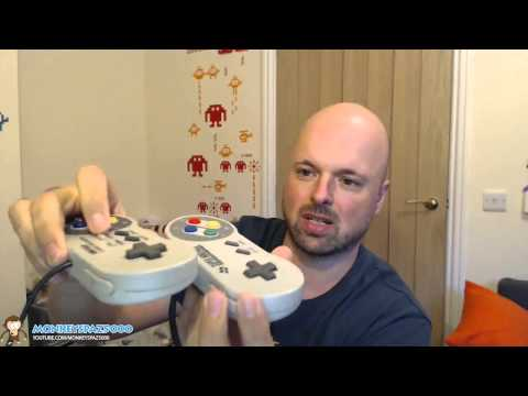 iBuffalo SNES USB Controller Review (Super Nintendo) - The best SNES USB Controller?