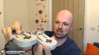 iBuffalo SNES USB Controller Review (Super Nintendo) - The best SNES USB Controller?