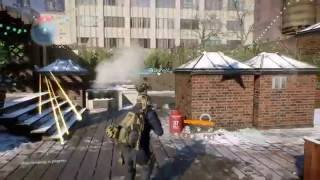 Tom Clancy The Division online gameplay 1 hour!