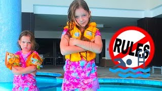 Sara si Sofia si Regulile simple de Comportament in Bazin | Rules for kids from Sara and Sofia