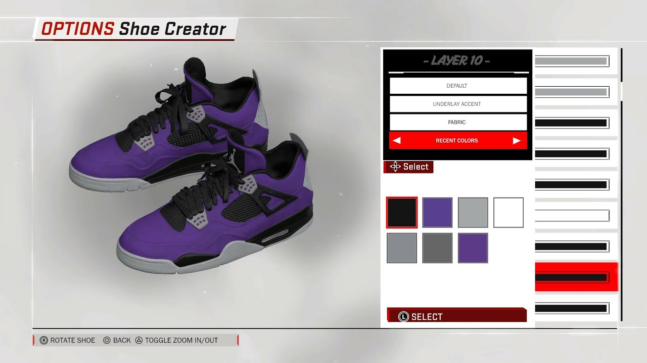 new styles d727e 30f5a Travis Scott Purple Jordan 4 for NBA 2K18