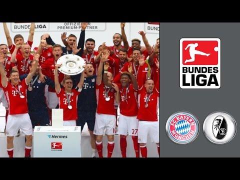 FC Bayern München vs SC Freiburg ᴴᴰ 20.05.2017   34.Spieltag - 1. Bundesliga   FIFA 17