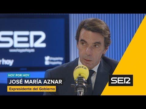 Aznar en la SER. Entrevista completa en Hoy por Hoy.