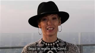 Martina Luoni insieme a Regione Lombardia contro il Covid-19