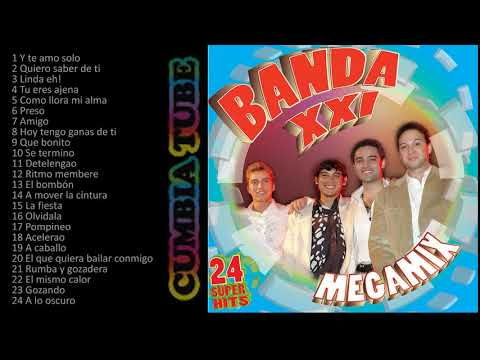 Banda XXI - Megamix Enganchados de Cuarteto, Mambo y Merengue