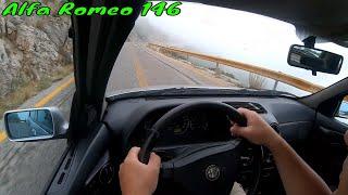 Alfa Romeo 146 βολτα στον Υμηττο