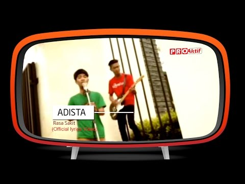 Adista - Rasa Sakit ( Lyric Video)