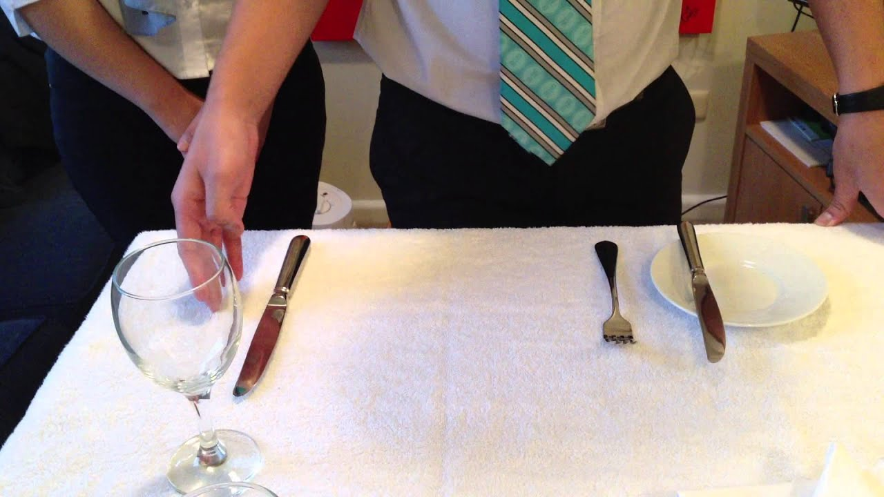 Russian Ala-carte Table Setting : la carte setting - YouTube