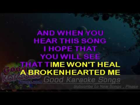 Broken Hearted Me - Anne Murray ( Karaoke Lyrics )