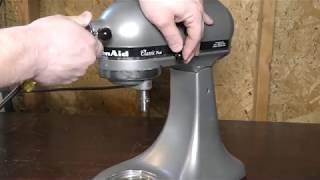 Fix your KitchenAide Mixer - Sloppy / Loose Head