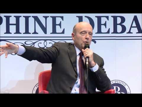 Alain Juppé à Dauphine (Dauphine Discussion Débat)