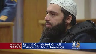 Chelsea Bombing Suspect Guilty On All Counts