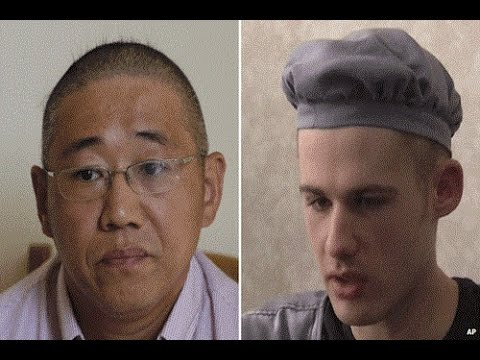 North Korea frees detained US men Miller and Bae