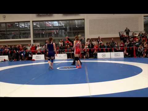 2015 Senior National Championships: 60 kg Kathleen Kent vs. Emma Horner