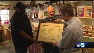 Man awarded for nearly 50 years recording the weather