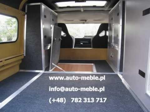 Land Rover Defender 110 Hard Top Interior Design