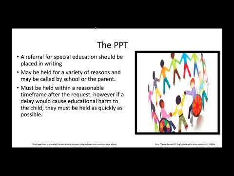 TAND Webinar: How to Navigate the Special Education System