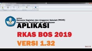 Gambar cover RKAS BOS 2019 Kemdikbud versi 1.32