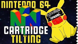 Cartridge Tilting and Corrupting Nintendo 64 Games
