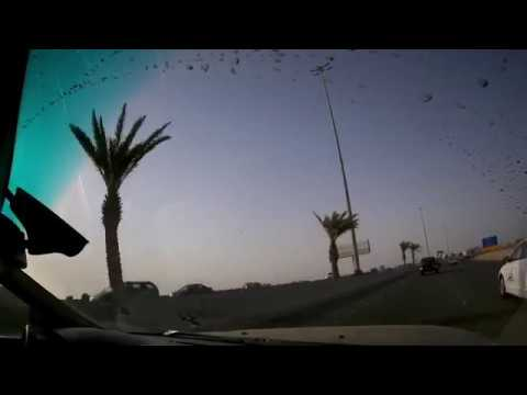Driving to King Abdul Aziz Int'l Airport, Jeddah