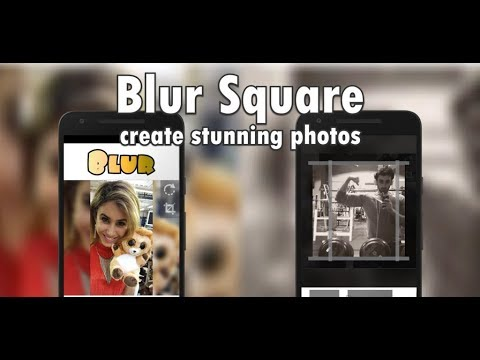 How to Create Blur Square Images for Instagram | iOS & Android