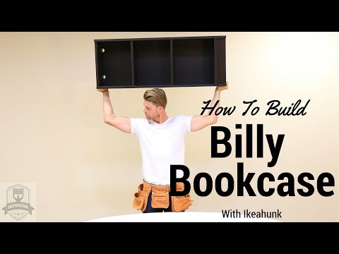 How to Assemble IKEA Billy Bookcase - YouTube