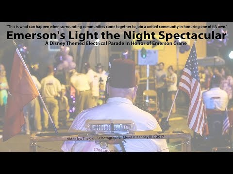 Emerson Cranes Light The Night Spectacular Parade Saturday August 19, 2017.