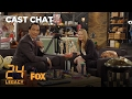 Jimmy Smits & Miranda Otto Get To Know Each Other In The Fox Lounge | Season 1 | 24: LEGACY