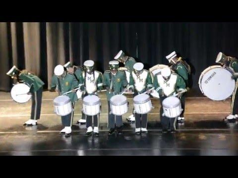 "Milford Mill Academy Drumline ""Stick Control"" 2016"