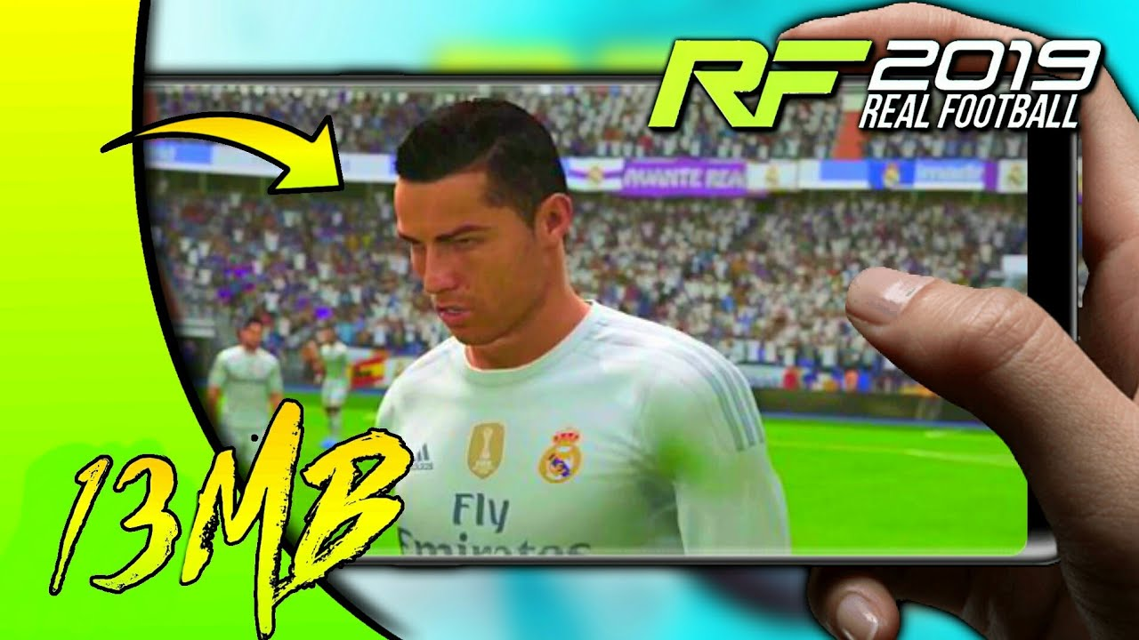 🔥REAL FOOTBALL 2019 APK+DATA IN 13MB || FULL GAME DOWNLOAD || HD GRAPHICS  #Smartphone #Android