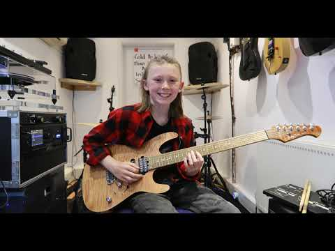 Anastasia Slash Guitar Cover By 10 Year Old Jake