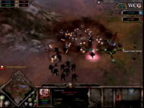 2006 Grand Final cyberspace 2 Dawn of War match: Select(KOR) vs deathgun(BRA) 1Set |
