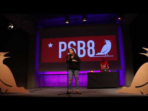 POETRY SLAM BARCELONA. FINALISTA AINARA GARCÍA. MAY0 2018.