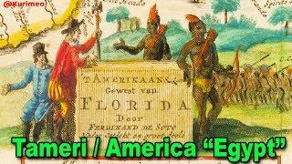 "Pt. 3 - True Origin of the Name America // Tameri  ""Egypt"" is America !!  /  TAMERRIKAANS"