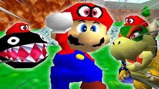 Super Mario 64 WITH CAPPY?!?