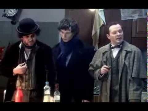 Пародия на фильмы про Шерлока Холмса