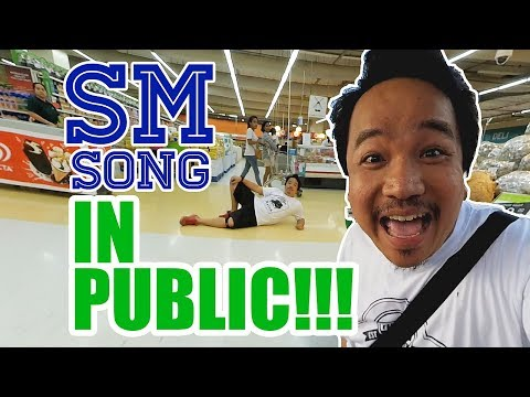 SM THEME SONG IN PUBLIC!!!   MayorTV