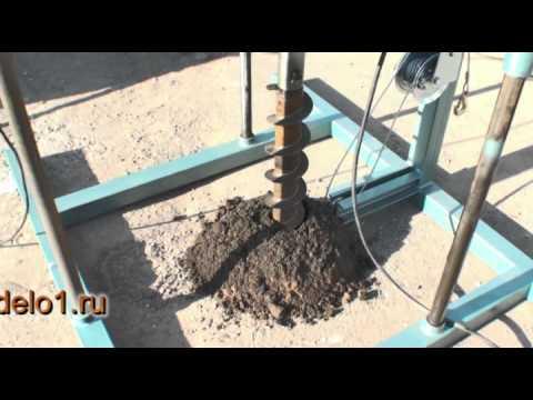 Малогабаритные буровые установки для бурения скважин