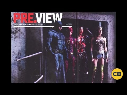 Breaking News: Justice League Image Released