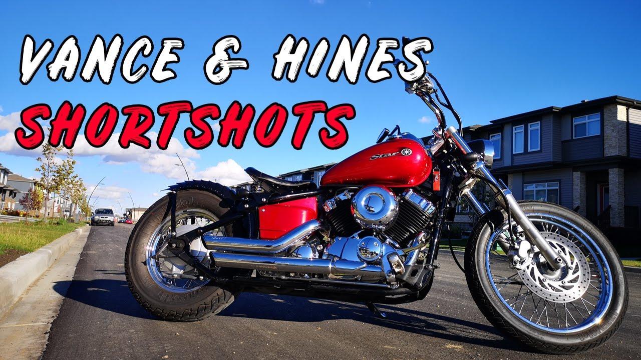 Download Vance and Hines Short Shots Exhaust on a Yamaha V Star XVS 650