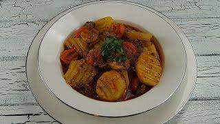 Etli Patates Yemegi Tarifi (Türkischer Kartoffel-Fleisch-Eintopf)