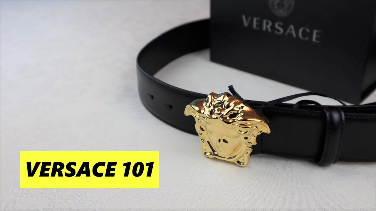 Versace Palazzo Belt Unboxing And Fit Review Versace 101
